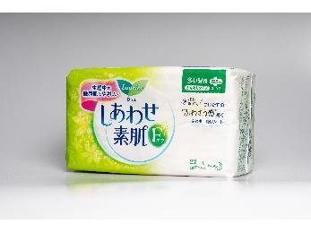 花王乐而雅透气绵柔纤巧日用护翼型卫生巾(22片)